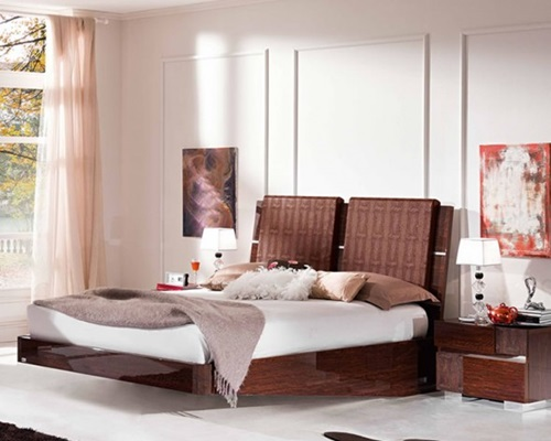 Minimalist bed for modern bedroom interior design for Modern minimalist bedroom furniture