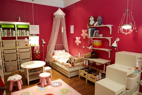 Modern Colors for Kids Rooms