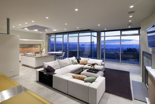 Open Kitchen to Living Room Designs
