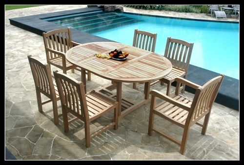 Outdoor Furniture High Durability Teak Wood Interior Design