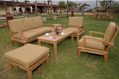 Outdoor furniture - high durability - teak wood