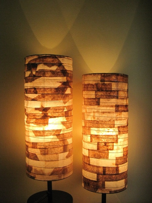 Patio Lights, Eco-friendly, and Fabric Lamp Shades