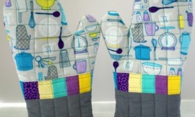 Practical and Luxurious Oven Mitts