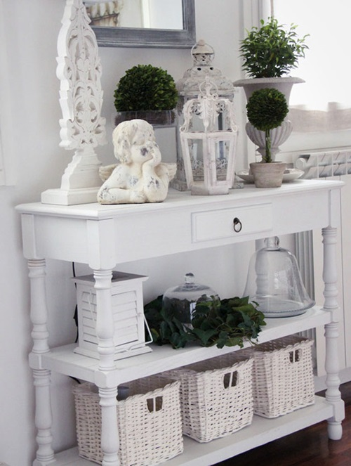 redecorating your house with console tables interior design