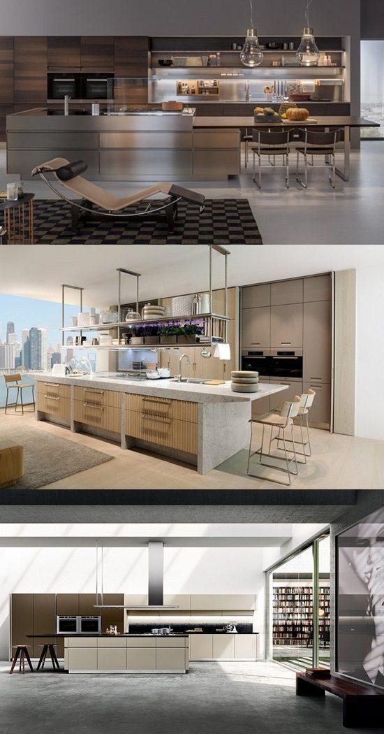 28 classic italian design italian kitchen sleek for Classic kitchen designs 2014