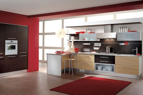Sleek italian kitchen designs classic modern for Sleek modern kitchen ideas