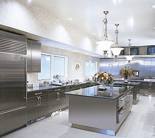 Stainless Steel In Luxury Kitchens Design Interior Design