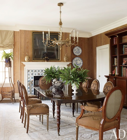 Traditional dining room color furniture accessories for Dining room decor accessories