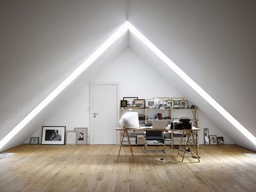 Your house is small!! think of the attic