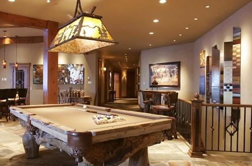 Your own billiard room - billiard table