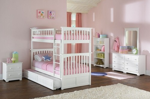 bunk bed princess - twins