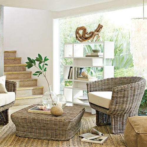 durable patio furniture from wicker and rattan sets interior design