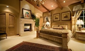 A Fireplace in the Bedroom!!…why not?!