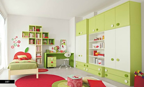 kid's room - How to manage the organisation and storage