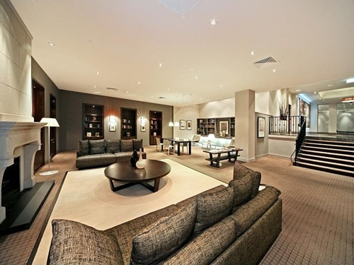 Living Room Space Thrilling Open Plan Areas Interior