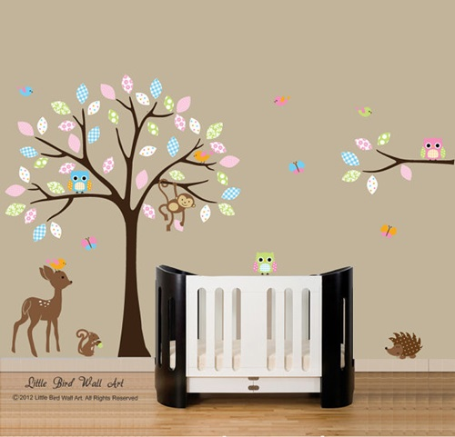 wall stickers child s room interior design baby nursery wall stickers