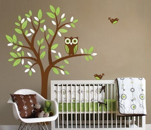 wall stickers child s room interior design