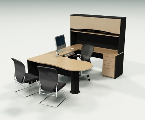 Accordion-Inspired Office Furniture