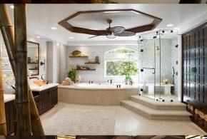 Asian Bathroom Designs - Asian Theme