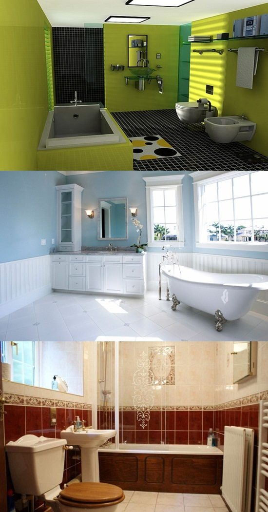 Bathroom color designs interior design - Interior design bathroom colors ...