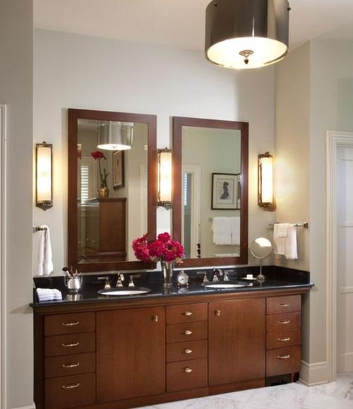 Bathroom Vanity Lighting Design Ideas ~ Bathroom mirror designs frame and light interior design