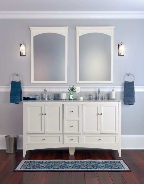 Bathroom Mirror Designs, Frame and Light