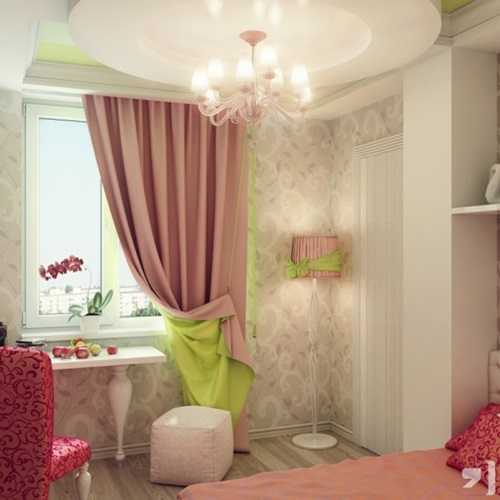 Children Bedroom Curtains Designs
