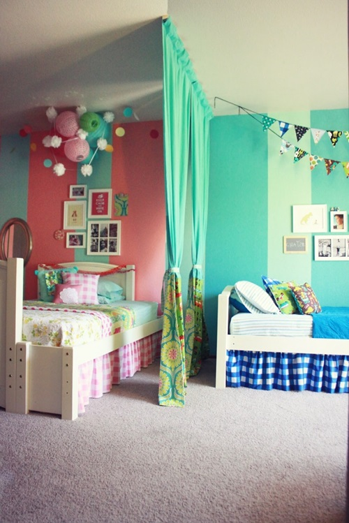 Children Bedroom Curtains Designs - Interior design