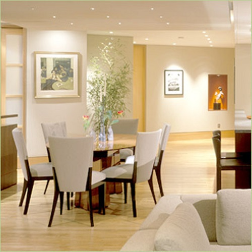 Contemporary dining room sets decorating tips and ideas for Dining room themes decor