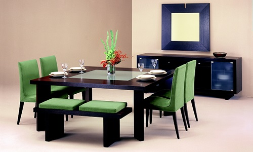 Contemporary Dining Room SetsDecorating Tips and Ideas