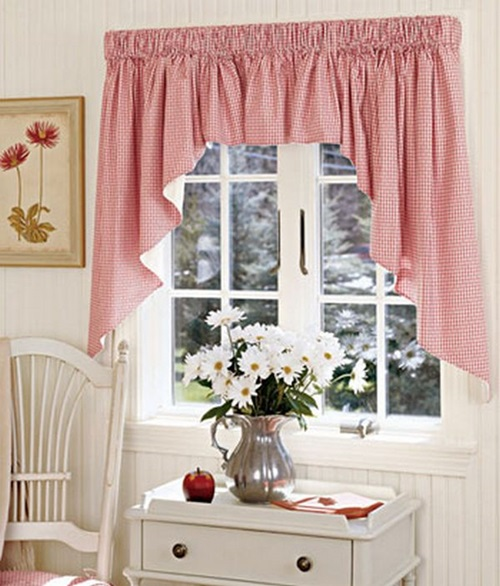 Curtain Designs For Kitchen 8 Steps How To Make Kitchen Curtains And Valances Steps By Step