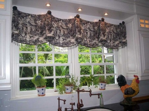 Contemporary Kitchen Curtain Designs