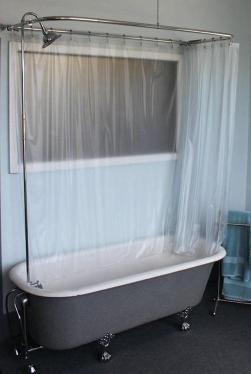 Cottage Bathroom Curtain Ideas - Home Decor
