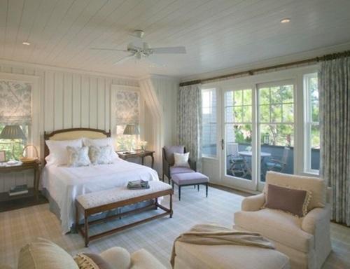 cottage bedroom curtain ideas interior design