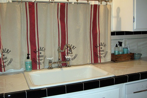 Cottage Kitchen Curtain Ideas - Cottage Curtain