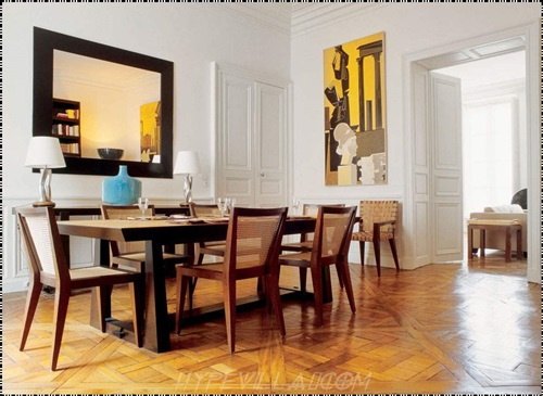 Dining room designs decorate your dining room interior for Dining room trim ideas