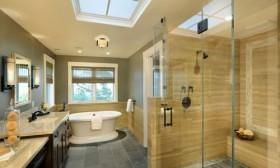 Elegant Glass Bathroom Door Designs