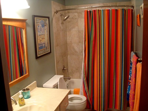 How to Choose the Ideal Bathroom Curtains Interior design
