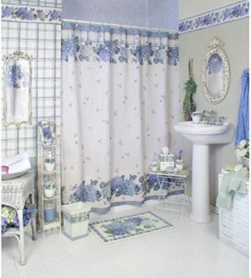 Choosing The Best Shower Valances Bathroom 81 Primitive