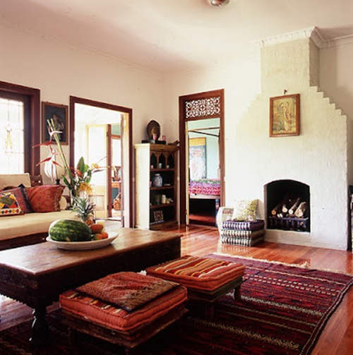 Indian Home Design: Indian Style Interior Design Ideas