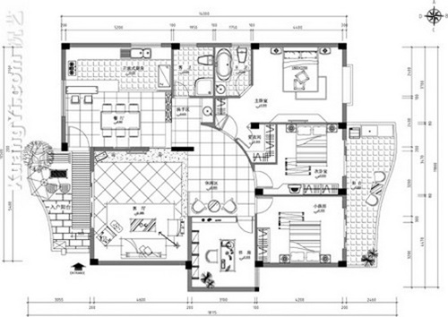 Interior Design Plan