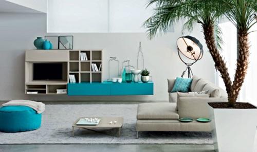 Italian Living Room Designs