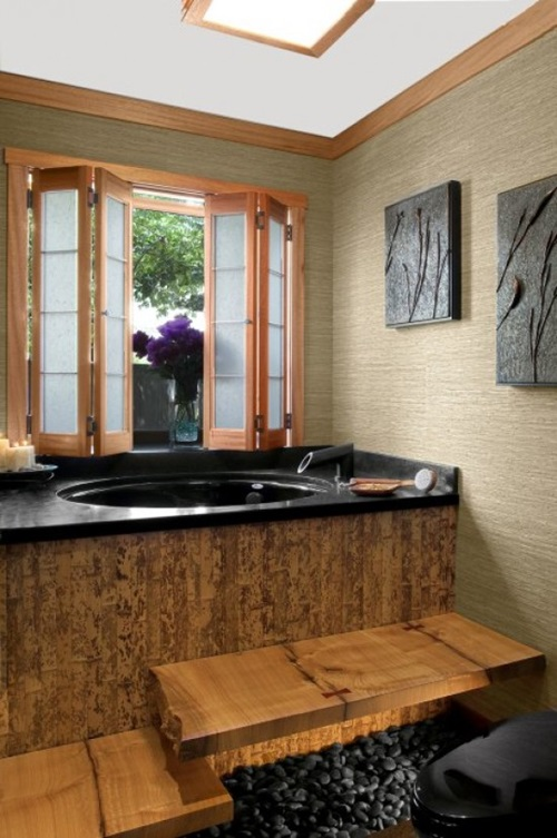 japanese bathroom designs - Japanese Bathroom Design