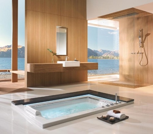 Japanese bathroom designs for Bathroom ideas japanese