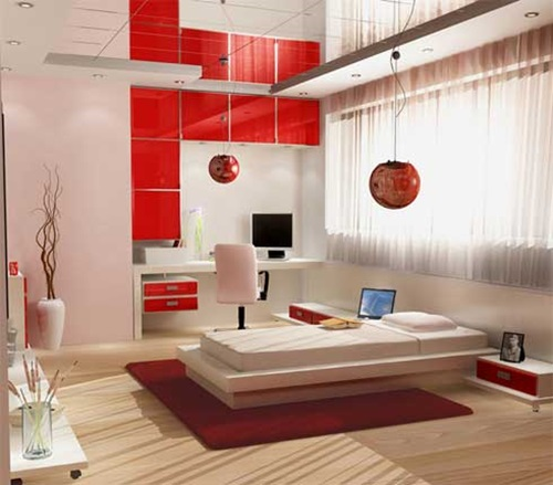 Japanese bedroom designs natural look interior design for Japanese bedroom designs pictures
