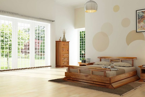 ... Japanese Bedroom Designs   Natural Look ...