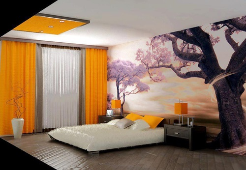 Japanese Bedroom Designs - Natural Look