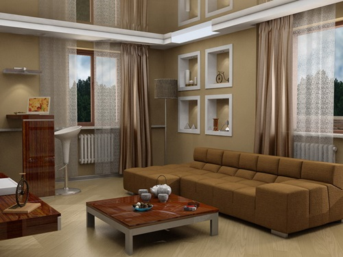 Japanese Living Room Interior Designs   Elegant Living Room ...