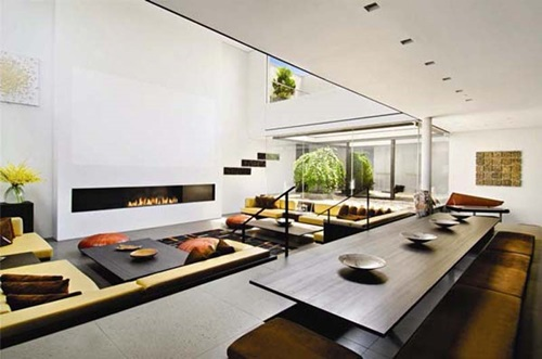 Japanese Living Room Interior Designs
