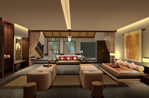 Japanese Living Room Interior Designs - Elegant Living Room